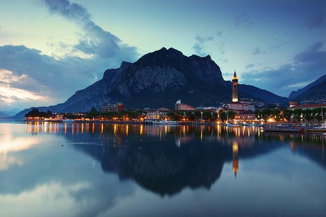 Lago di Lecco by: Eric Hossinger